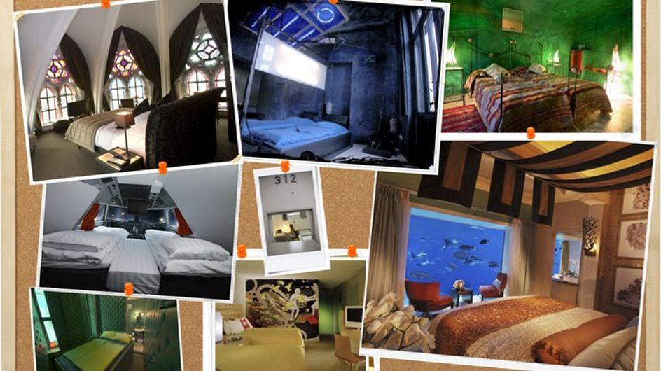 ¡Una estancia única en los hoteles más originales del mundo!