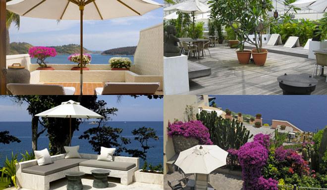 I terrazzi più belli d'Italia