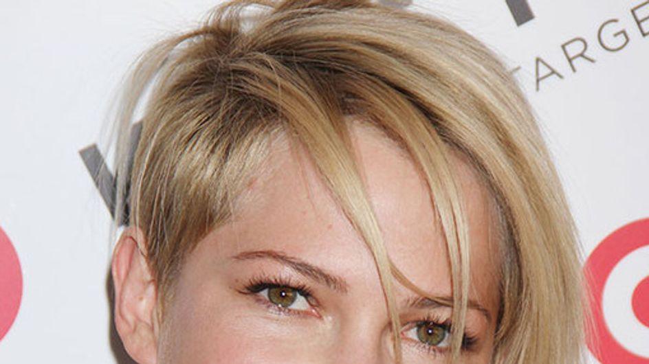 Michelle Williams hair: The blonde crop