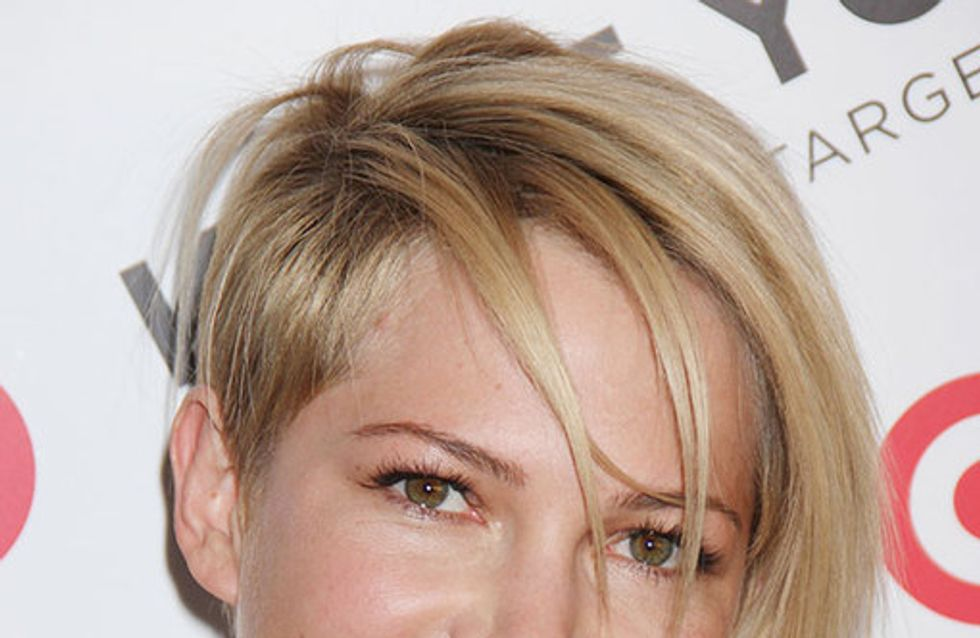 Michelle Williams hair: The blonde crop