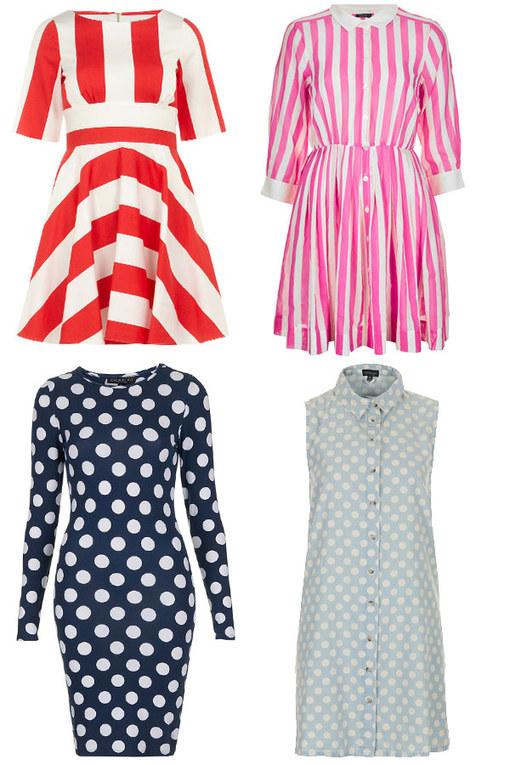 Spots vs stripes: Trend off