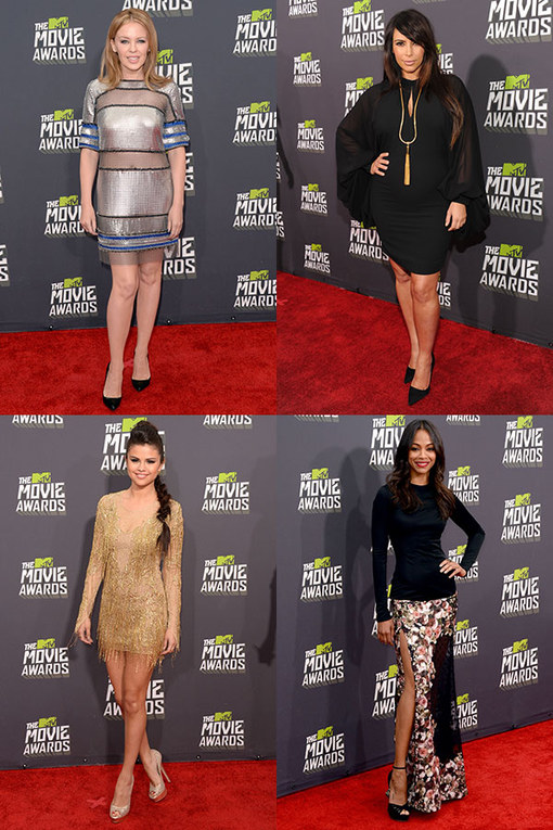Voltreffers en modeblunders op de MTV Movie Awards