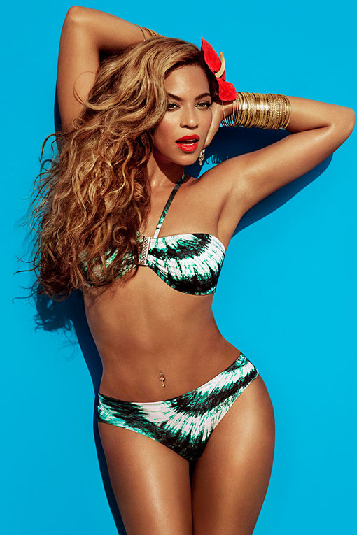 Beyonce's OMG bikini body for H&M swimwear campaign