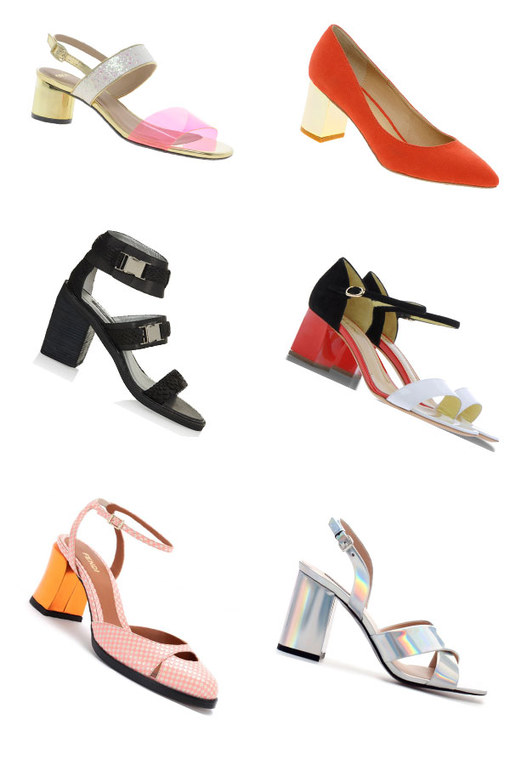 Blockette heels: The new season shoe