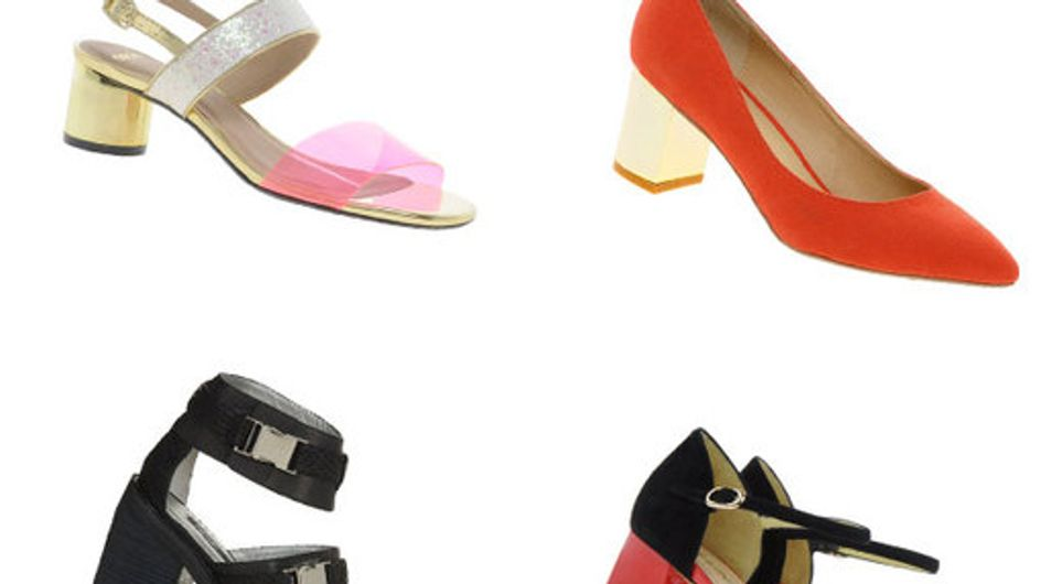 Blockette heels: The new season shoe