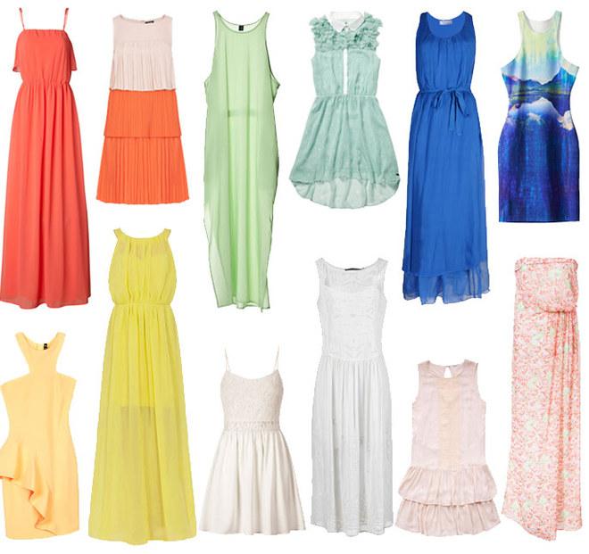 Corti o lunghi? I vestiti per la tua primavera estate 2013
