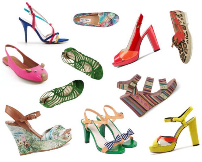 5 schoenentrends voor Spring/Summer 2013