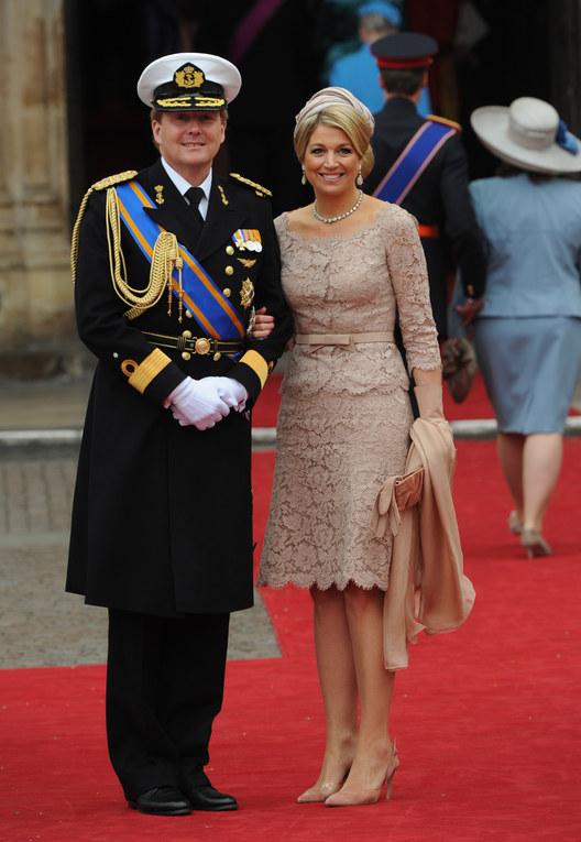 Il nuovo re d'Olanda Willem con la moglie Maxima