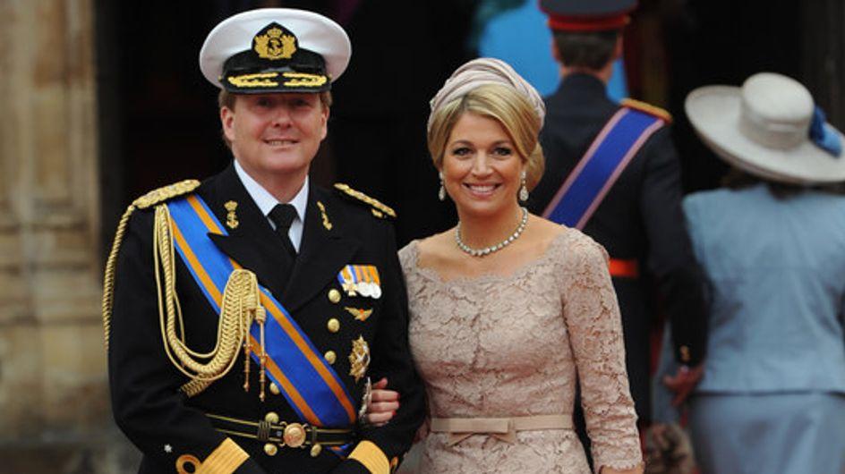 L'Olanda accoglie il nuovo re: ecco Willem e la moglie Maxima