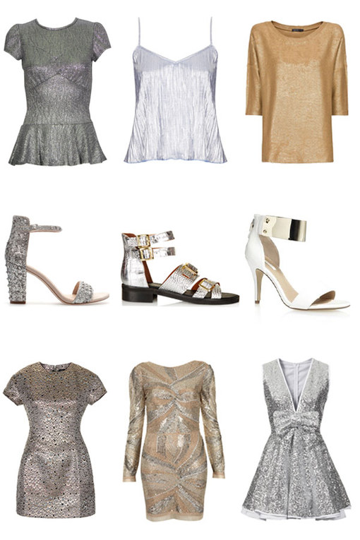 Metallic fashion: 40 dazzling looks