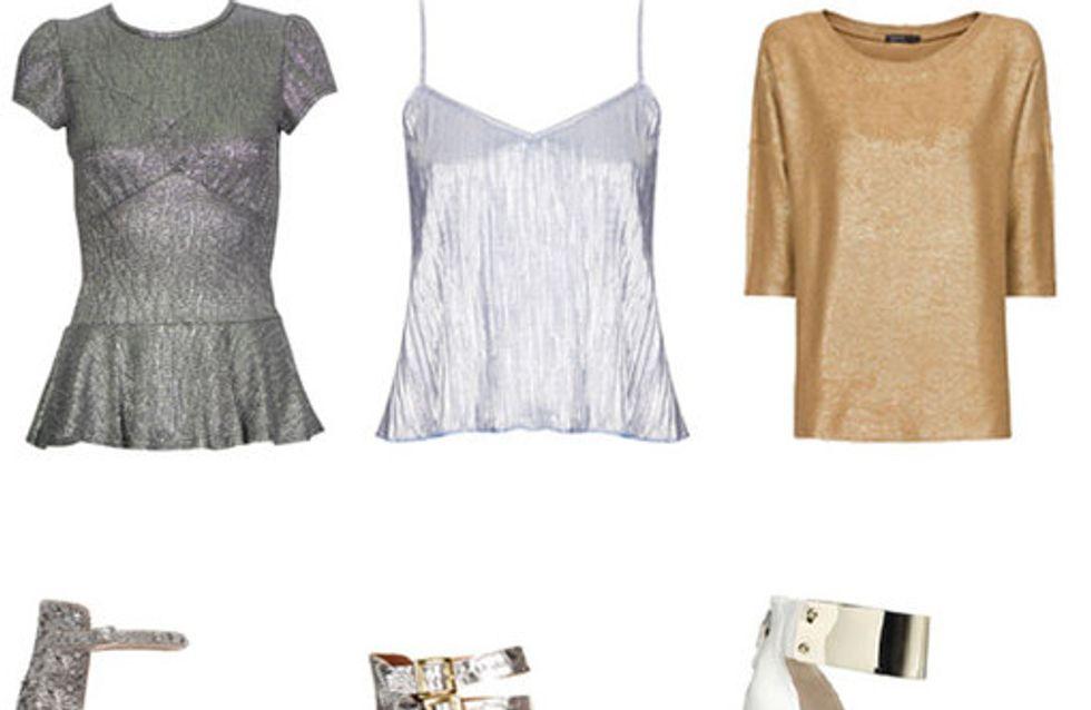 Metallic fashion: 40 dazzling looks