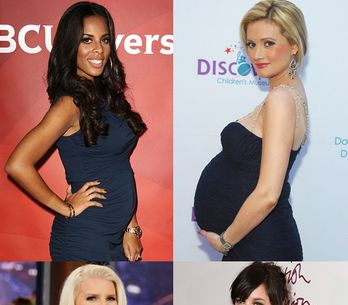 Pregnant celebrities and celebrity babies 2013