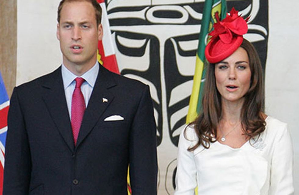 Prince William and Kate Middleton: New parents!
