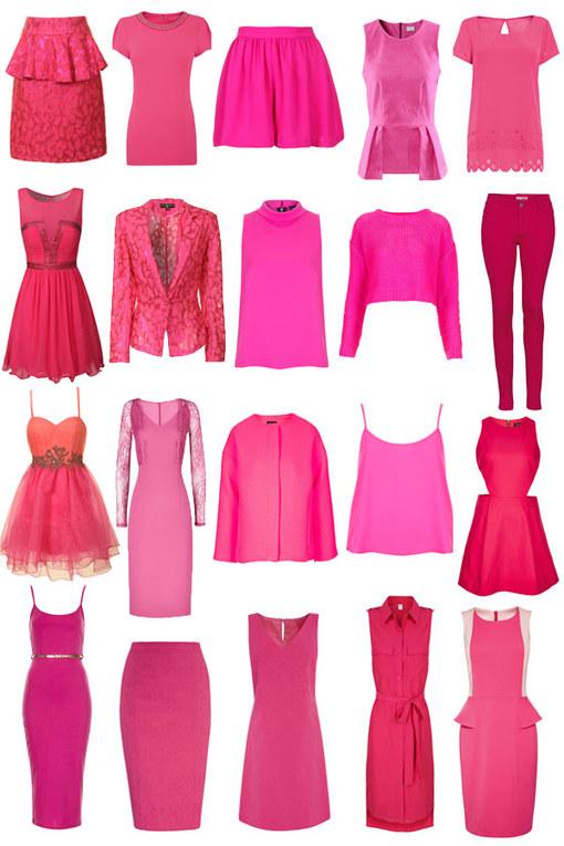 Hot pink: 40 fuchsia looks