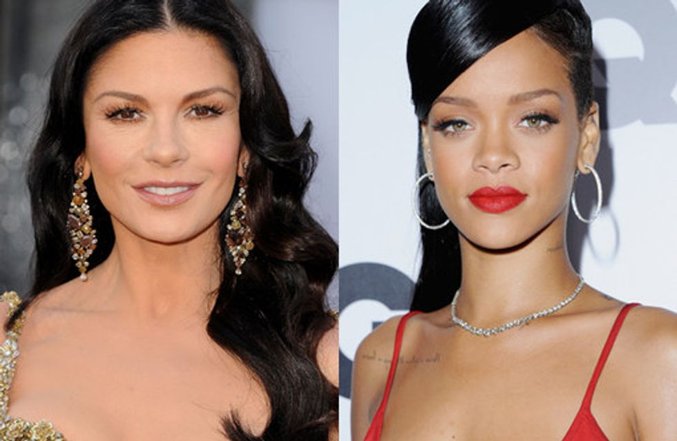 Celebrities with black hair: Raven haired beauties