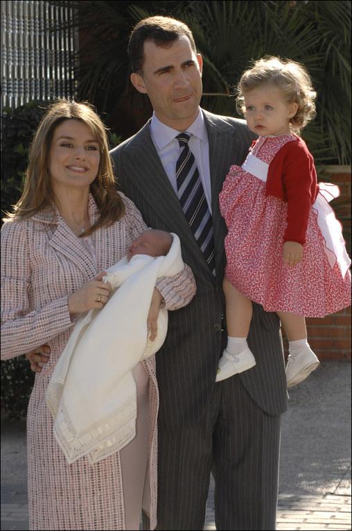 La infanta Sofía en 2007