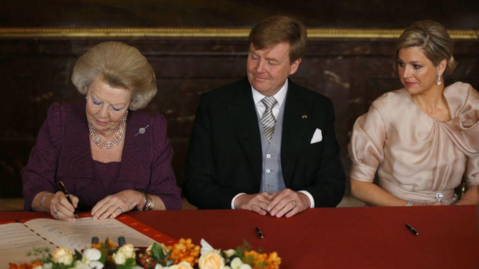 Guillermo y Máxima ya son reyes de los Países Bajos