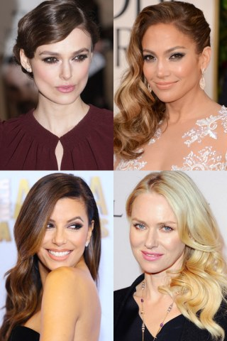 Celebrities with wavy hair