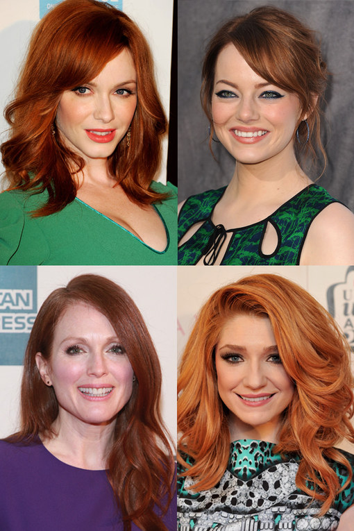 The hottest A-list red heads