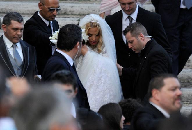 Il matrimonio di Valeria Marini