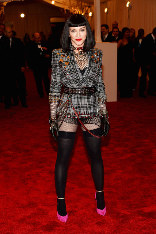 Le star sul red carpet del Met Gala 2013 - Madonna