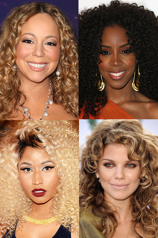 Celebrities with curly hair: A-list girls with curls