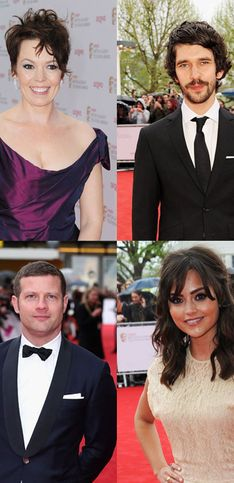 TV BAFTAs 2013: The stars on the red carpet