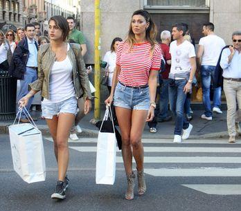 Foto/ Shopping milanese per Belén e Cecilia