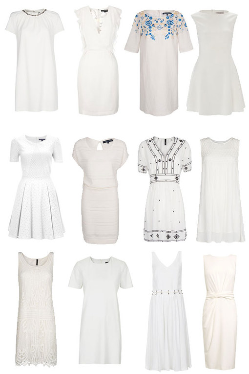 30 little white dresses every woman needs