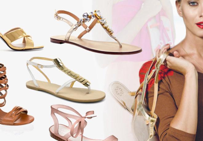 Sandalen und Sandaletten: Die Trends 2013