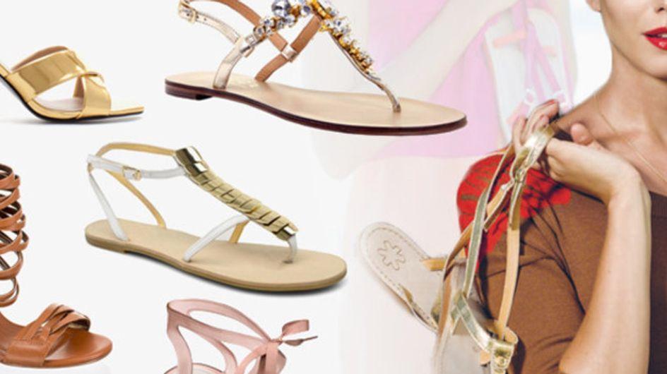 Zeigt her eure Füße! Sandalen & Sandaletten für 2013