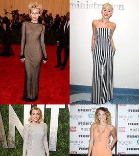 Miley Cyrus style file: The punk princess