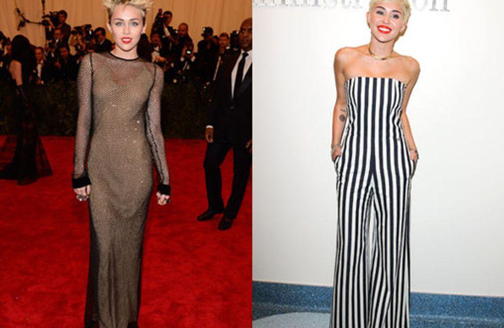 Miley Cyrus style file: The punk princess