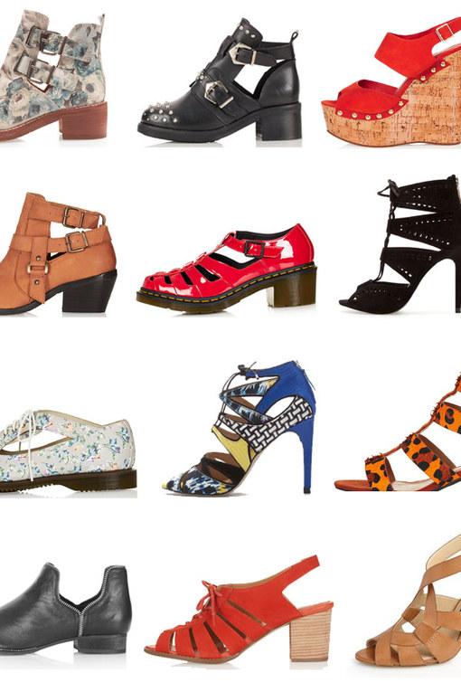30 Cute cut out shoes