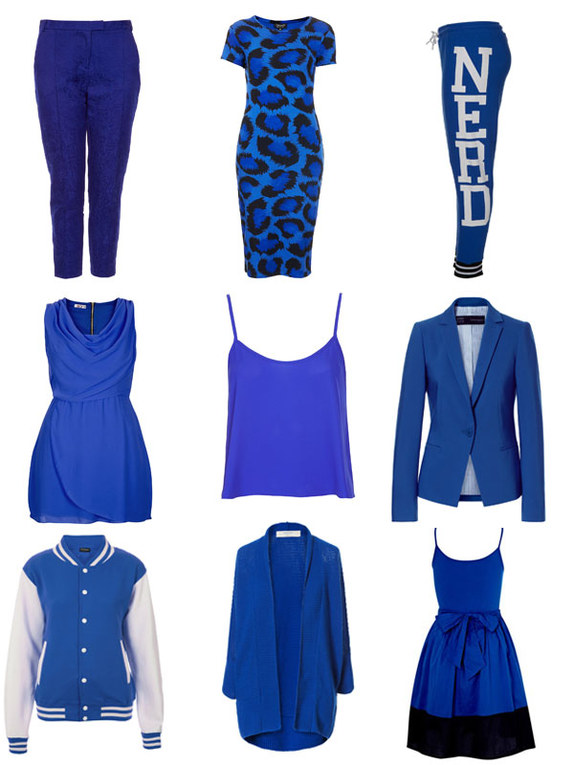 Cobalt blue: This season's coolest hue