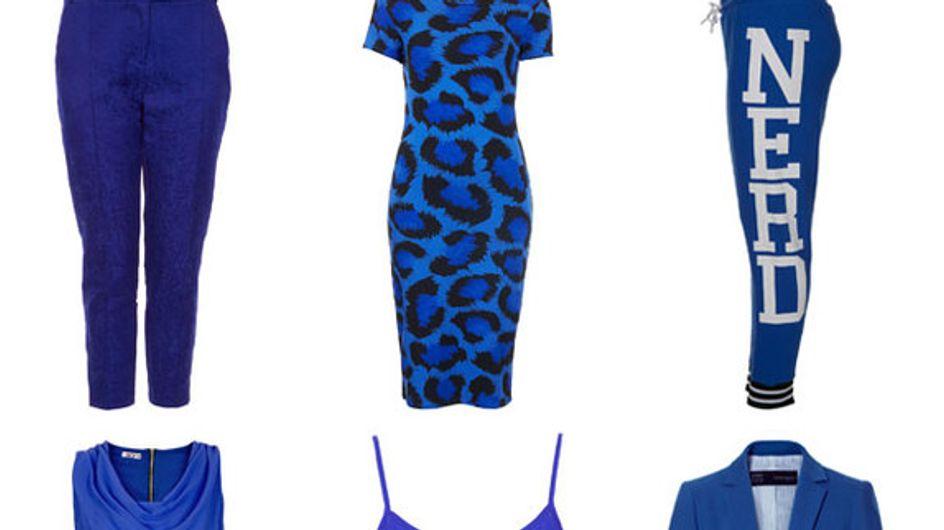Cobalt blue: This season's coolest hue