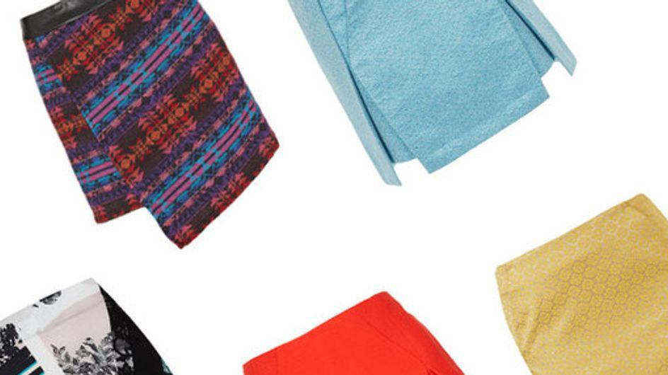 Origami skirts: Folded fashion