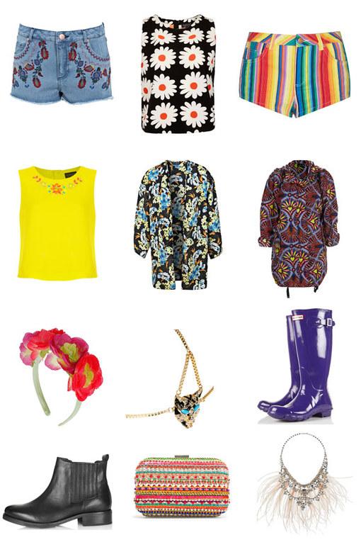 Festival fashion: Boho style ideas