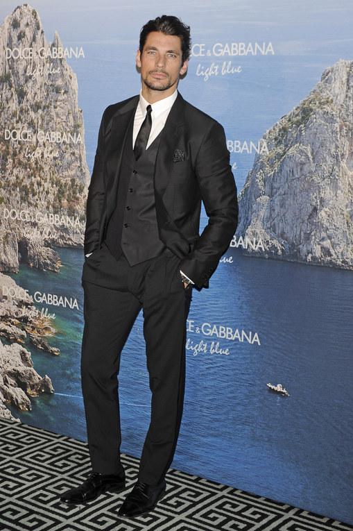 David Gandy, modelo de Dolce&Gabanna, conquista Madrid