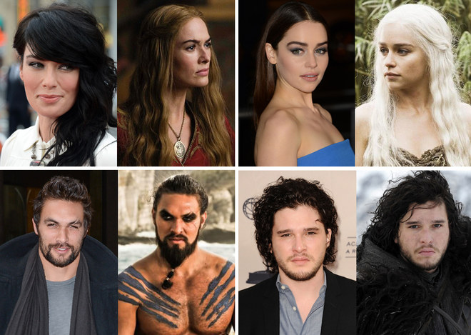 Gli attori di Games of Thrones
