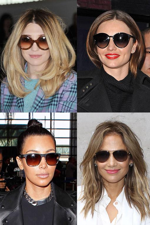Os óculos de sol das famosas