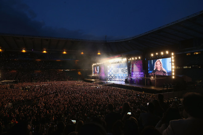 Le foto del concerto benefico al Twickenham Stadium di Londra