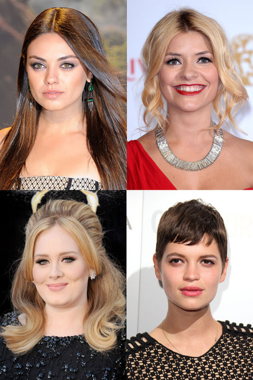 Hairstyles for round faces: A-list approved looks