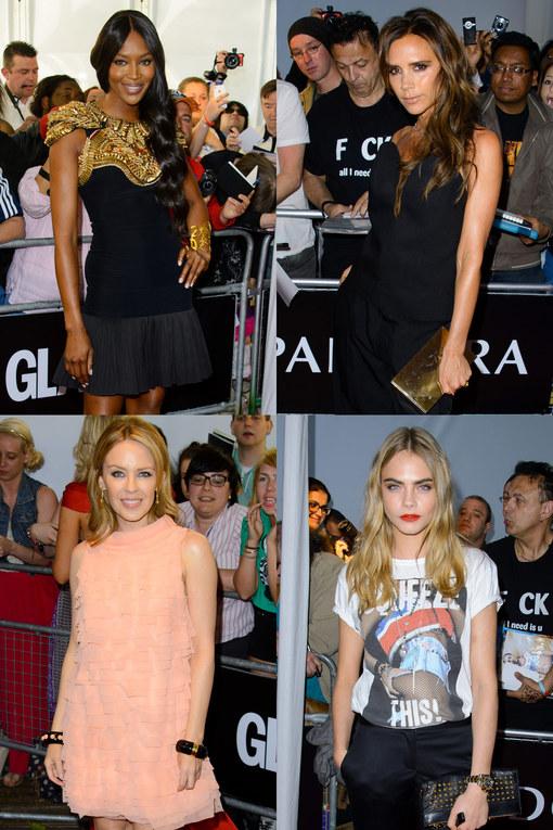 El glamour brilla en Londres