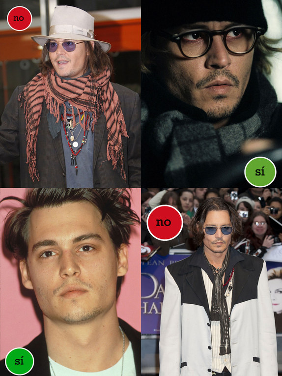 Johnny Depp: Aciertos y errores de estilismo