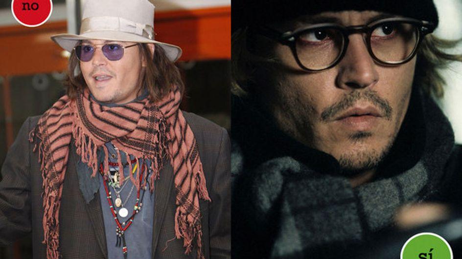 Johnny Depp: aciertos y errores de estilismo en 50 años