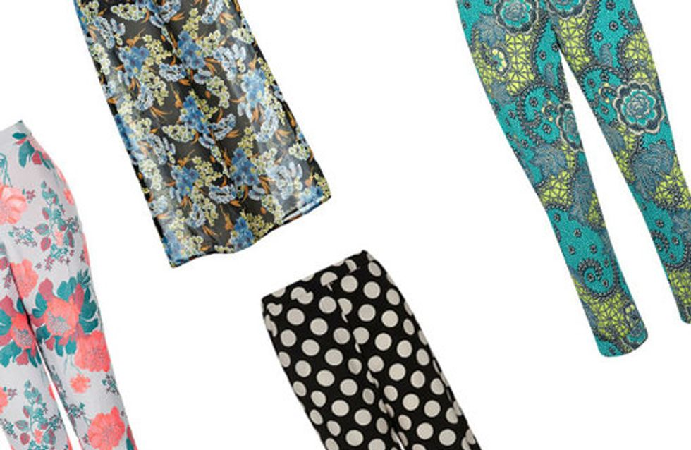 Printed trousers: 30 summer looks