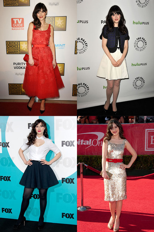 Zooey Deschanel style file: Her hottest looks
