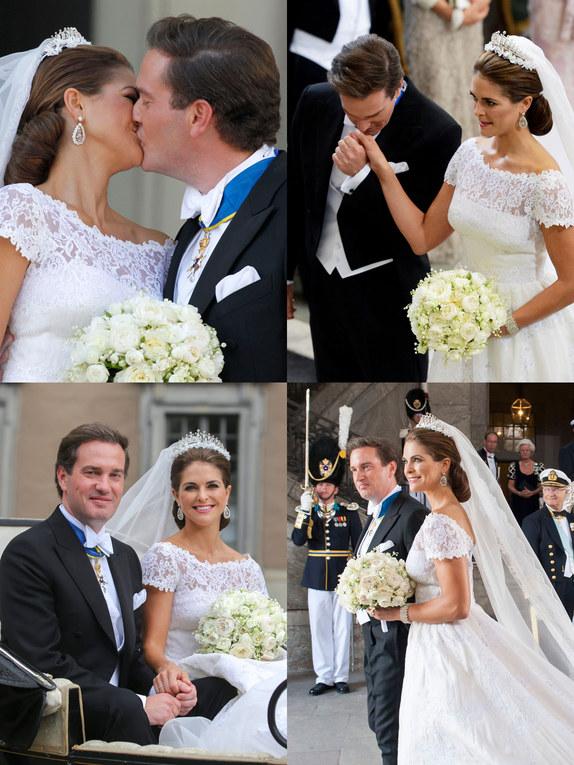La boda de Magdalena de Suecia y Chris O´Neill