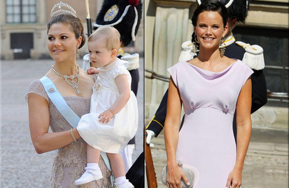 Los looks reales de la boda de Magdalena de Suecia